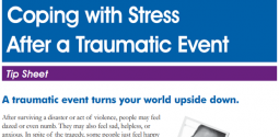 Coping With Stress After a Traumatic Event