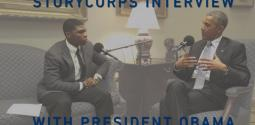 StoryCorps Interview: President Obama and Noah McQueen