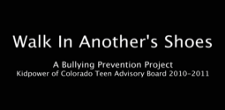 Walk In Another's Shoes - Teens Speak Out About Bullying