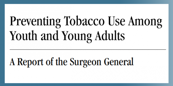 Preventing Tobacco Use Among Youth and Young Adults
